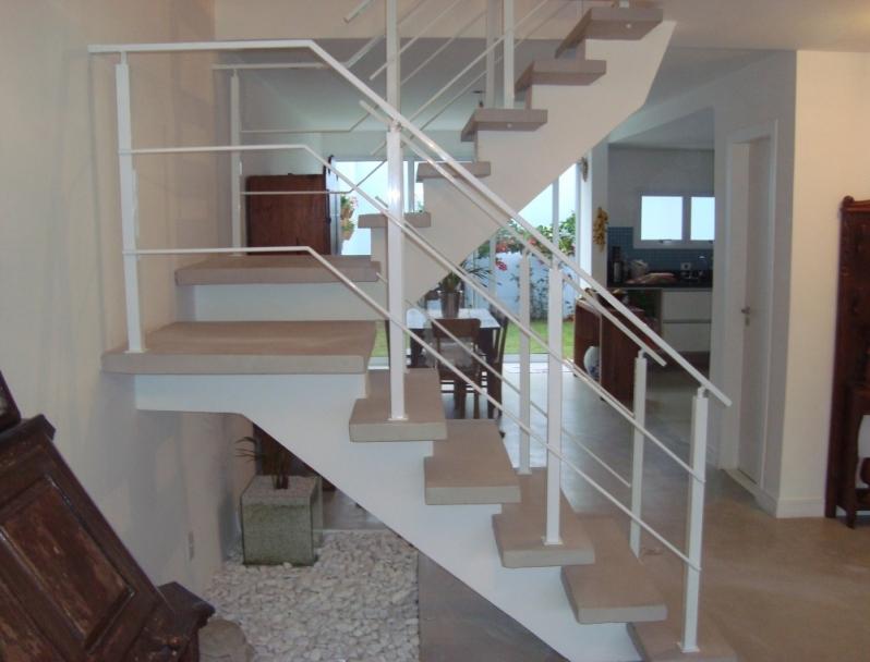 Corrimão com Pintura Pinheiros - Corrimão Pintado para Escada