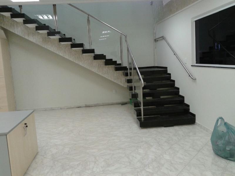 Corrimão de Escada em Vidro Temperado Preço Bragança Paulista - Corrimão de Vidro e Inox