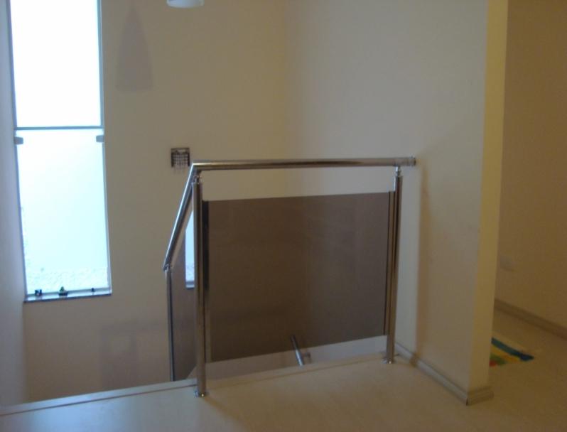 Corrimão de Vidro Fumê Bragança Paulista - Corrimão de Escada em Vidro Temperado