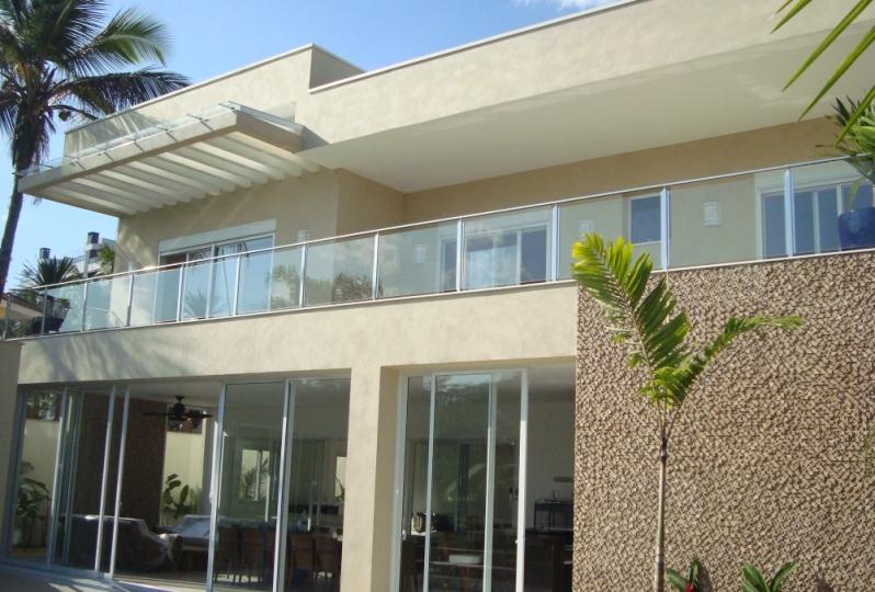Corrimão de Vidro para Varanda Preço Araçatuba - Corrimão de Vidro Temperado