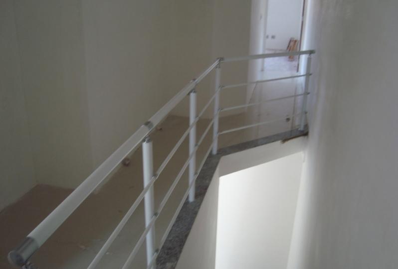 Corrimão Pintado Casa Verde - Corrimão Pintado para Escada