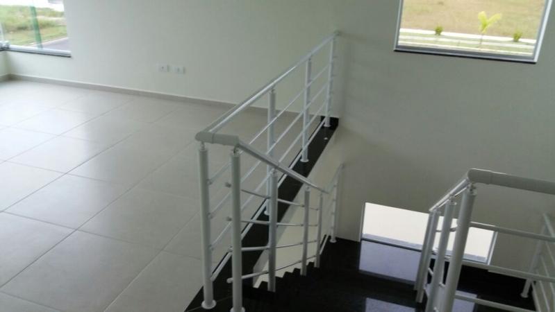 Corrimãos de Ferro para Escada Caracol ARUJÁ - Empresa de Corrimão de Ferro