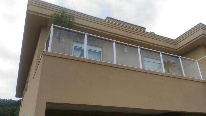 Corrimões de Vidro para Sacadas Juquitiba - Corrimão de Vidro para Escada