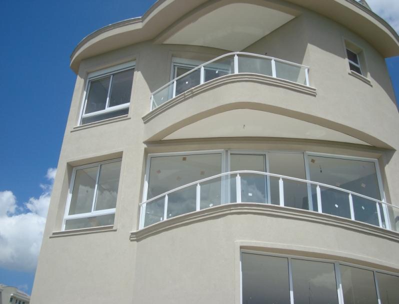 Corrimões de Vidro para Varandas Guaianases - Corrimão de Vidro para Escada