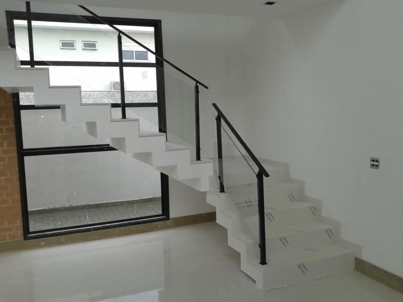 Corrimões de Vidro Itapevi - Corrimão de Escada em Vidro Temperado