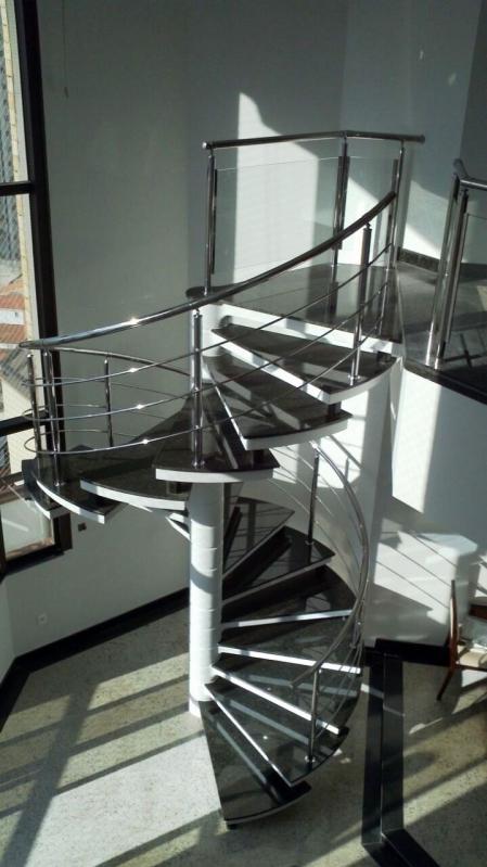 Fábrica Corrimão de Aço Inox Valor Jaraguá - Fábrica de Corrimão de Aço Inox para Escadas