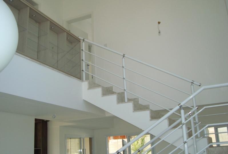 Fábrica de Corrimão de Parede de Ferro Belém - Fábrica de Corrimão de Ferro com Vidro