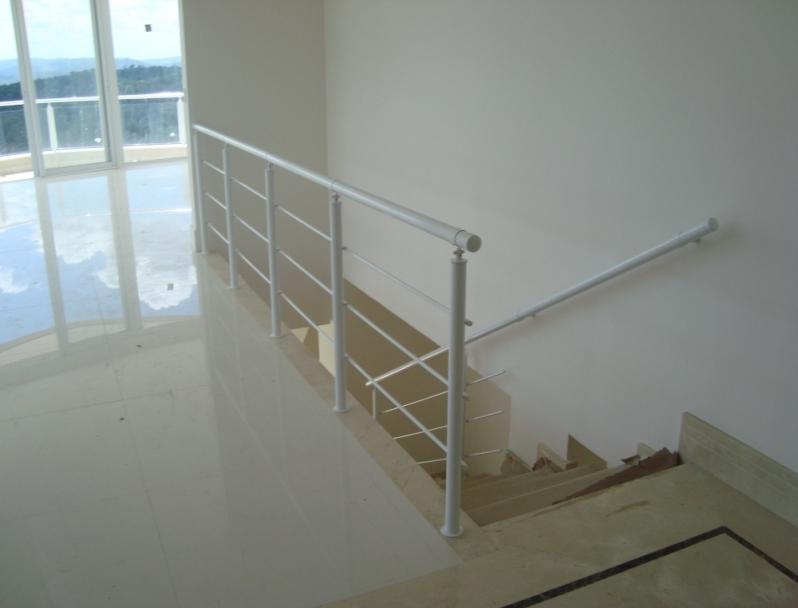 Fábrica de Corrimão para Escada de Ferro Mogi das Cruzes - Fábrica de Corrimão de Ferro Cromado