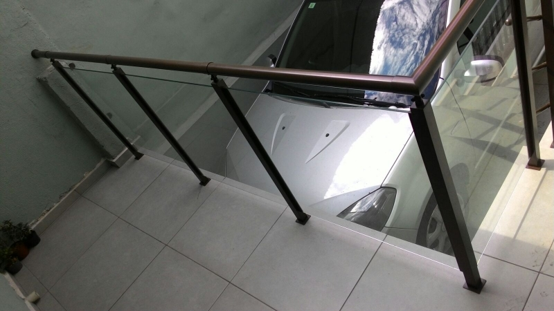 Fabricante de Guarda Corpo em Sp Vila Buarque - Guarda Corpo para Escada