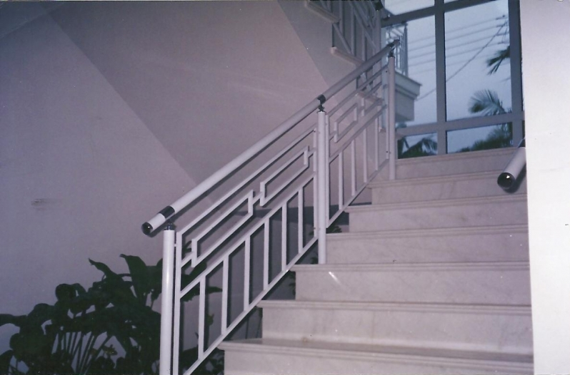 Fábricas de Corrimão de Ferro e Vidro Imirim - Fábrica de Corrimão de Ferro com Vidro