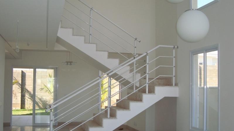 Fábricas de Corrimão de Ferro sob Medida Santo André - Fábrica de Corrimão para Escada