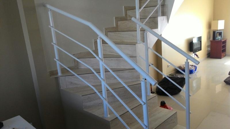 Fábricas de Corrimão para Escadas Jardim Europa - Fábrica de Corrimão de Ferro com Vidro
