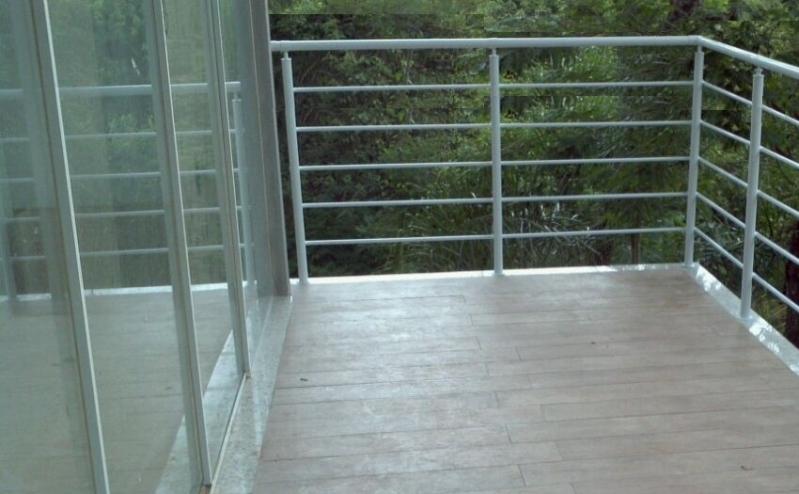 Guarda Corpo em Alumínio Preço Jaboticabal - Guarda Corpo para Escada