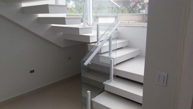Guarda Corpo para Escada Preço Itupeva - Guarda Corpo em Vidro