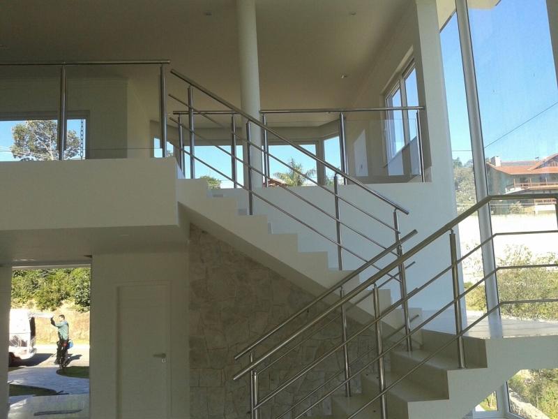Guarda Corpos de Aço Inox Vila Carrão - Guarda Corpo para Escada