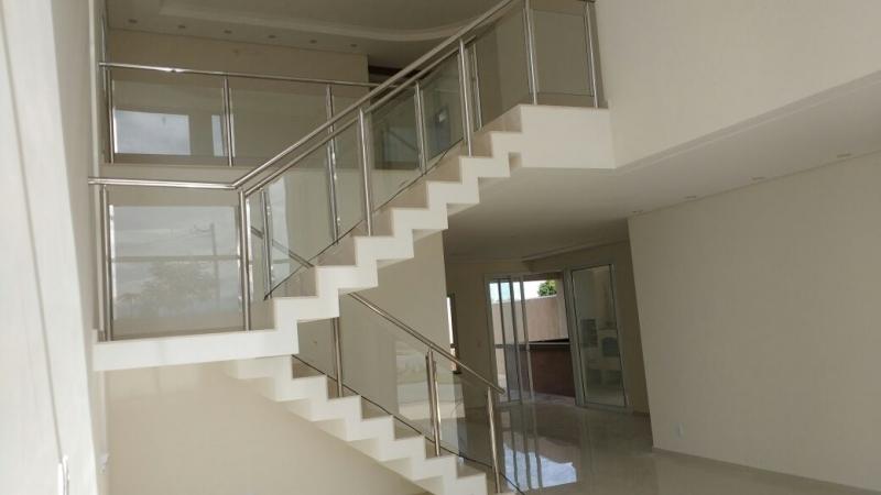 Instalação de Corrimão de Aço Inox com Vidro Valores Caieiras - Instalação de Corrimão de Aço Inox e Vidro