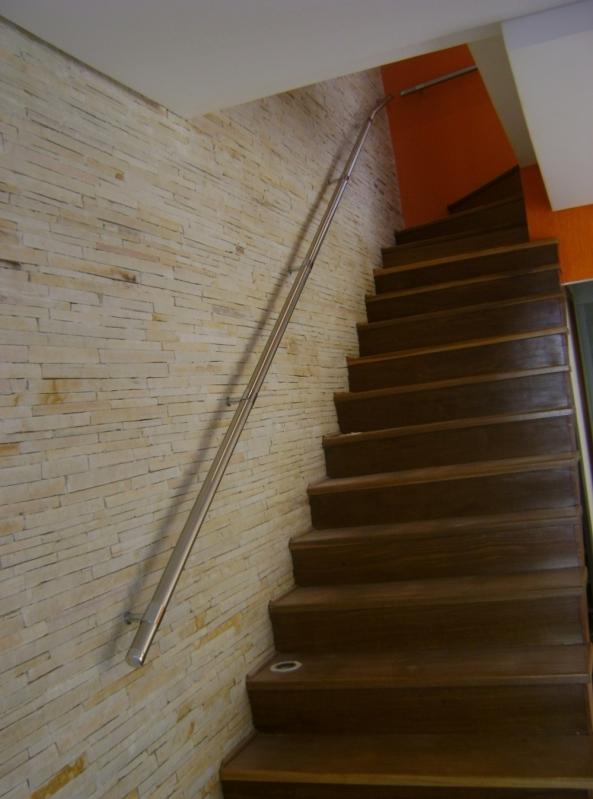 Instalação de Corrimão de Aço Inox sob Medida Valor Cidade Dutra - Instalação de Corrimão de Aço Inox com Vidro