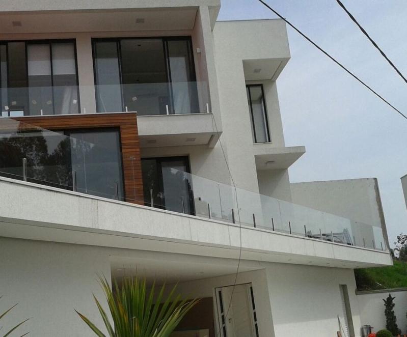 Instalação de Corrimão de Vidro São José dos Campos - Corrimão de Vidro