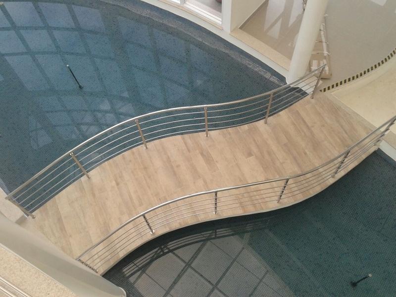 Instalação de Corrimão em Aço Inox Vila Mariana - Instalação de Corrimão de Aço Inox com Vidro