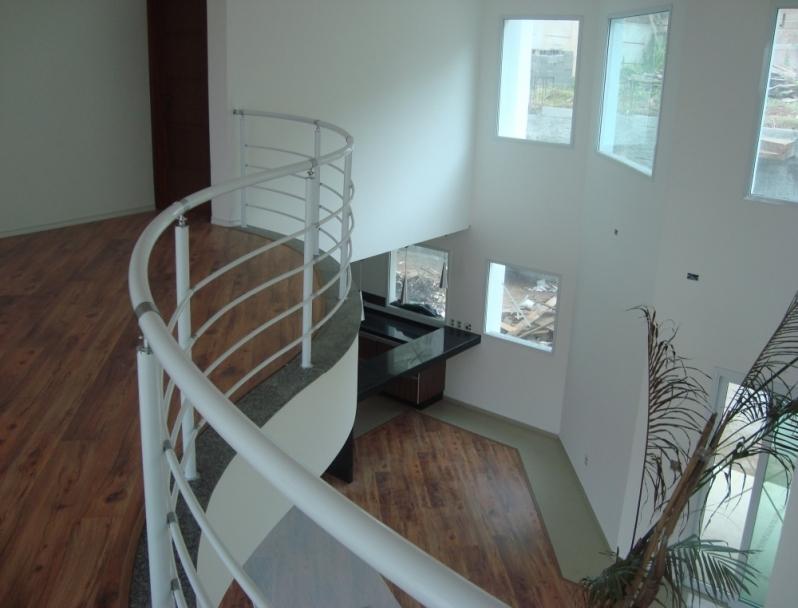 Localização de Fábrica de Corrimão de Ferro para Escada Caracol Limeira - Fábrica de Corrimão de Ferro com Vidro