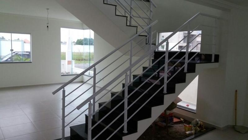 Localização de Fábrica de Corrimão de Ferro para Escada Interna Diadema - Fábrica de Corrimão de Ferro Cromado