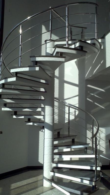 Onde Encontrar Corrimão para Escada Caracol em Guarulhos - Corrimãos para Escadas em São Paulo