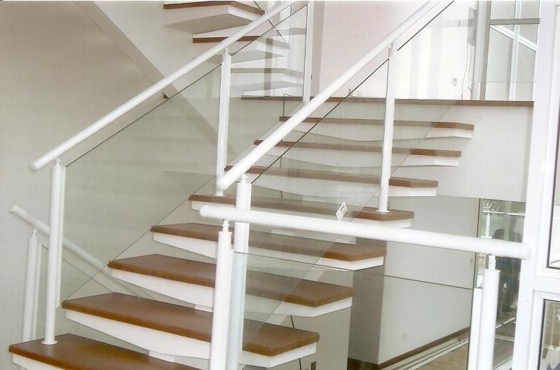 Onde Encontrar Fábrica de Corrimão de Ferro com Vidro Itapecerica da Serra - Fábrica de Corrimão para Escada