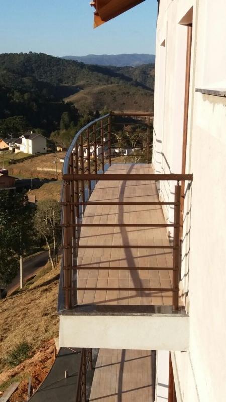 Onde Encontrar Guarda Corpo em Alumínio Jacareí - Guarda Corpo para Escada