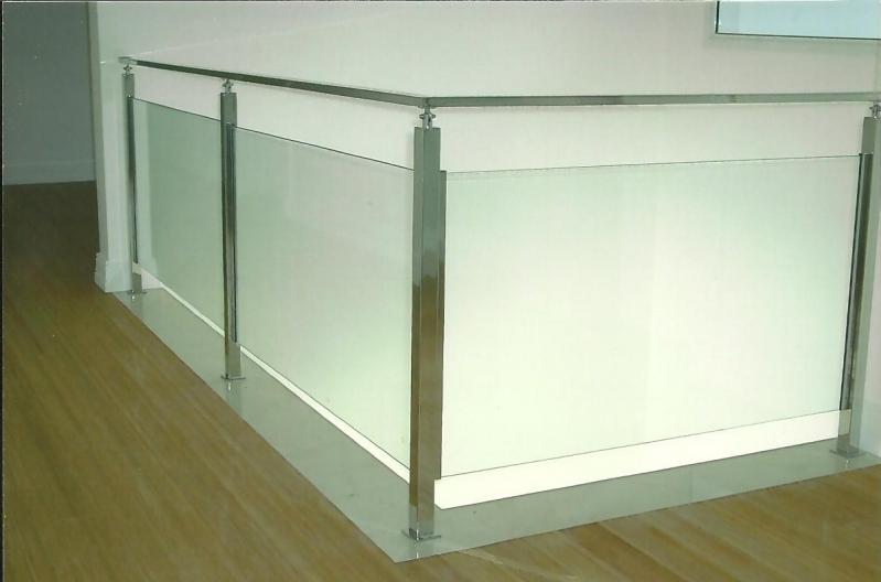 Onde Encontrar Guarda Corpo em Vidro Embu das Artes - Guarda Corpo para Escada