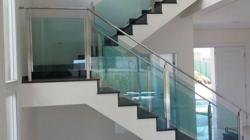 Onde Encontrar Guarda Corpo para Escada Alto de Pinheiros - Guarda Corpo em Vidro