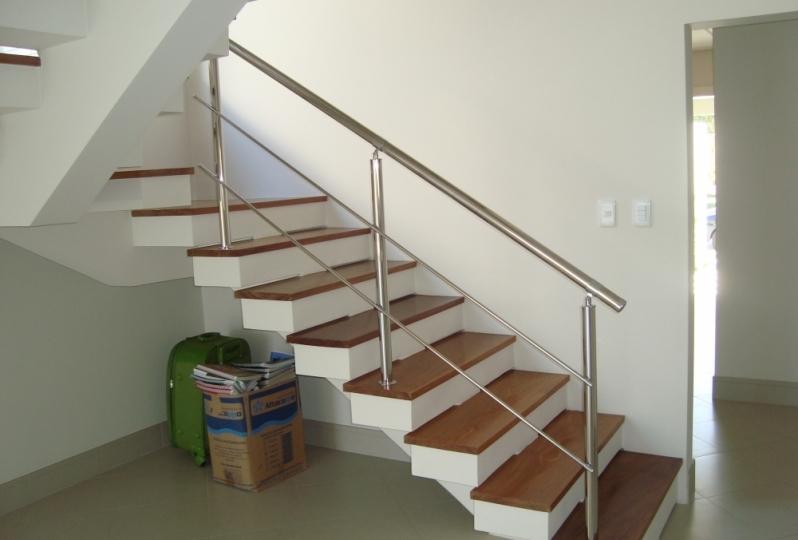 Onde Encontro Fábrica de Corrimão de Aço Inox e Vidro Parque do Carmo - Fábrica de Corrimão de Aço Inox para Escadas