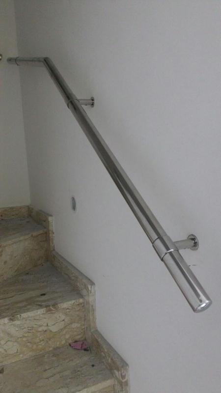 Onde Encontro Fábrica de Corrimão de Aço Inox sob Medida Sumaré - Fábrica de Corrimão de Aço Inox para Escada Caracol