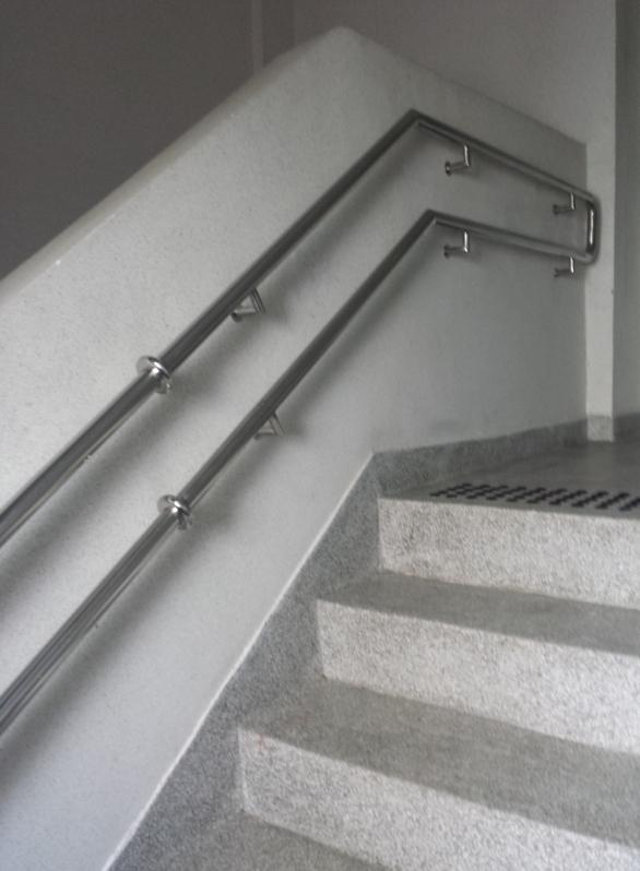 Onde Tem Fábrica de Corrimão de Aço Inox sob Medida Artur Alvim - Fábrica de Corrimão de Aço Inox para Escada Caracol