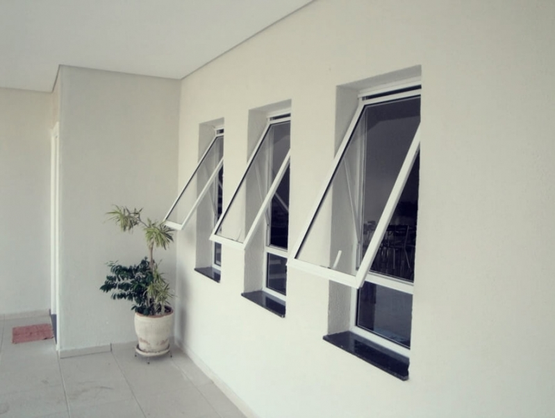 Preço de Janela de Vidro Basculante Limeira - Janela de Vidro Basculante
