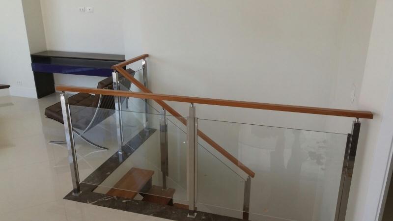 Quanto Custa Corrimão de Vidro para Escada de Madeira Aclimação - Corrimão de Vidro Fumê