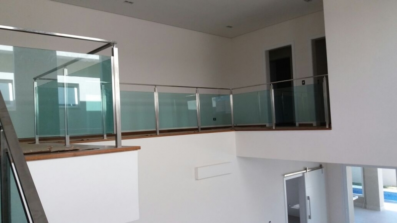 Quanto Custa Corrimão de Vidro Verde Salesópolis - Corrimão de Vidro Fumê