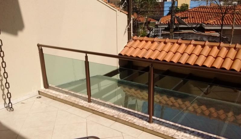 Quanto Custa Corrimão de Vidro Jardim Bonfiglioli - Corrimão de Escada em Vidro Temperado