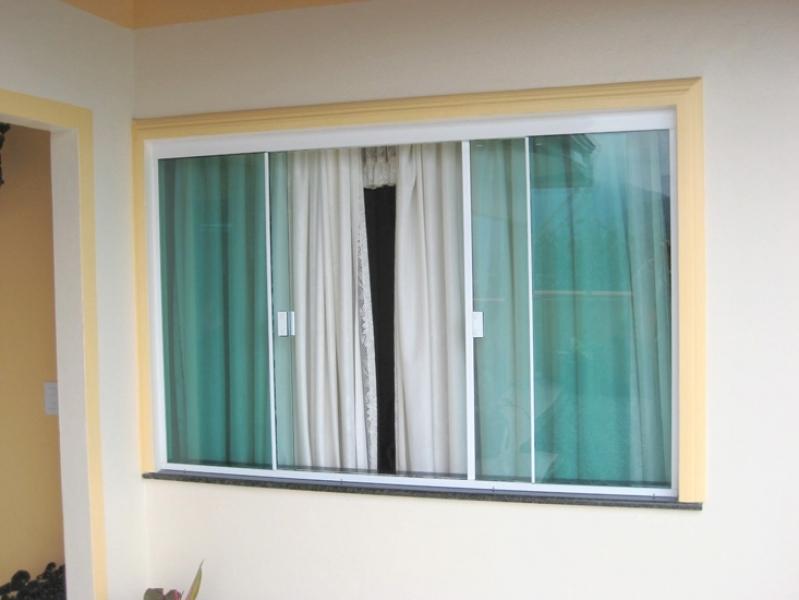 Quanto Custa Janela de Vidro com Grade Barueri - Janela de Vidro para Cozinha