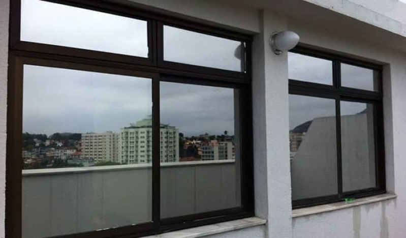 Quanto Custa Janela de Vidro Espelhado Jardim São Paulo - Janela de Vidro com Grade