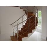 busco por corrimão escada de concreto Vila Leopoldina