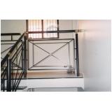 busco por corrimão escada de ferro Parque São Rafael