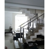 busco por corrimão para escada de inox Vila Sônia