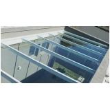 cobertura de vidro área externa Engenheiro Goulart