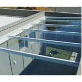cobertura de vidro para garagem Alphaville