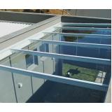 comprar cobertura de vidro área externa Sumaré
