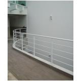 corrimão de alumínio para escada preço Vila Matilde