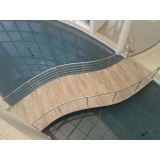 corrimão de escada de inox Campo Grande