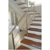 corrimão de escada Cidade Jardim
