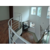 corrimão de ferro para escada caracol Vila Medeiros