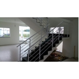 corrimão de ferro para escada interna Vila Mariana